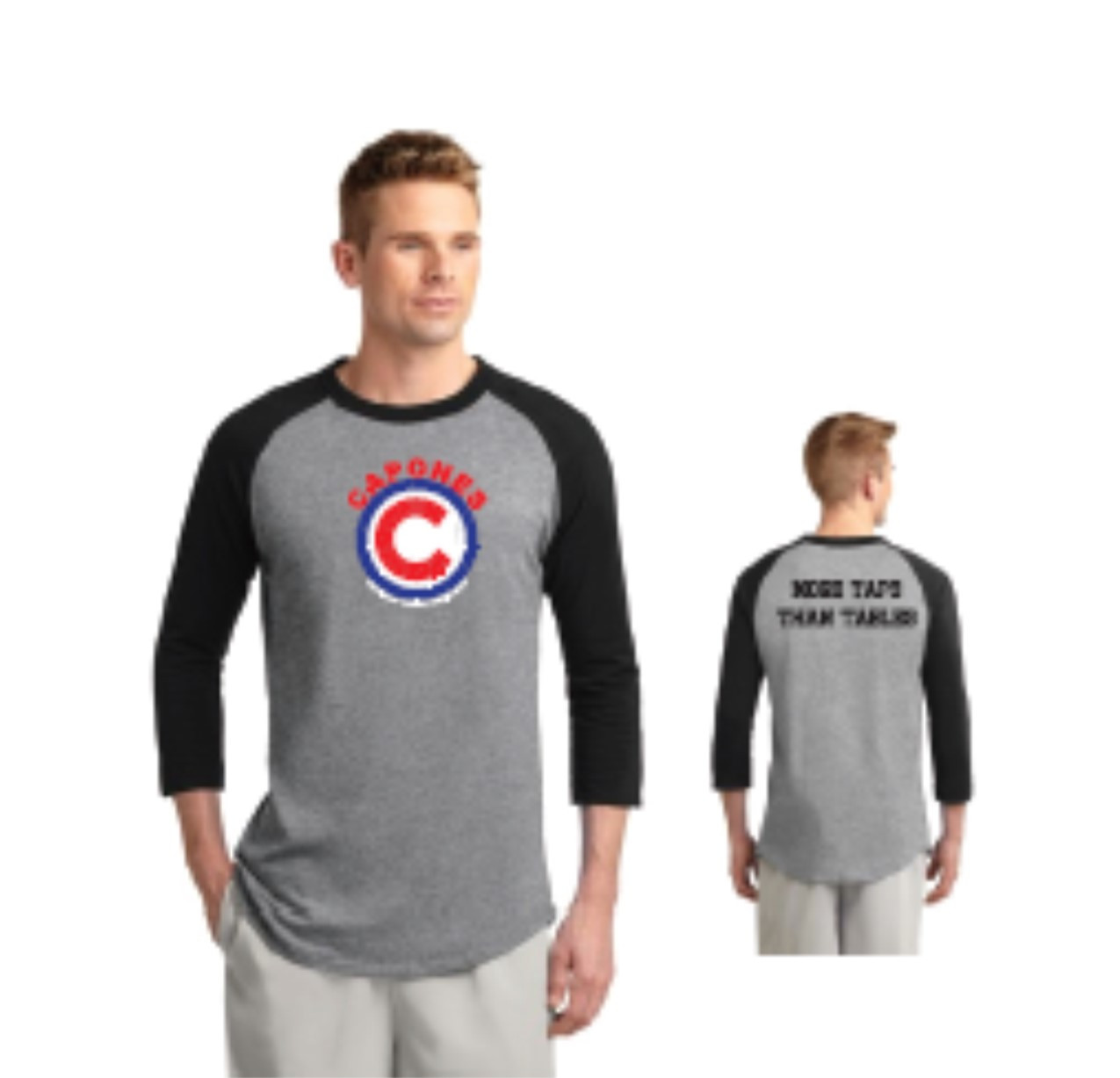 Raglan style shirt