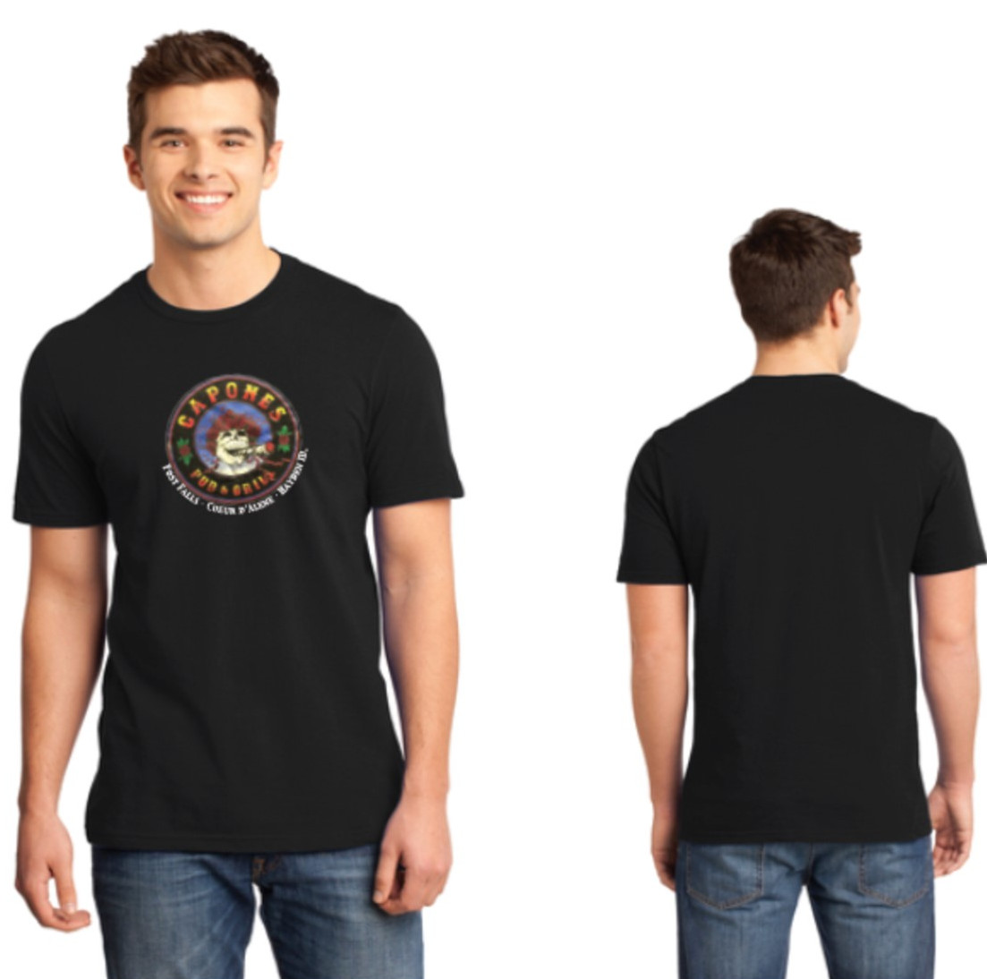 "T Shirt Grateful Dead ""Bertha"" Roses"